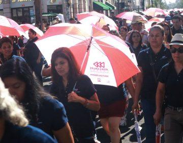 Acaparan partidos desfile por el Día del Trabajo