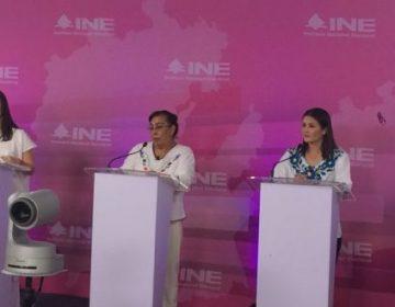 Trastabillan los candidatos hidalguenses en segundo debate