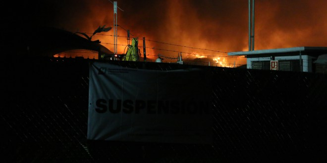 Camacho responsabiliza a Valorsum por daño ecológico por incendio de basurero