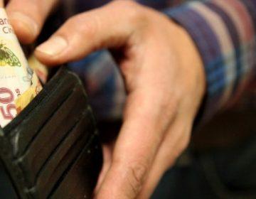 Disminuyó $109.5 el salario mensual de los hidalguenses
