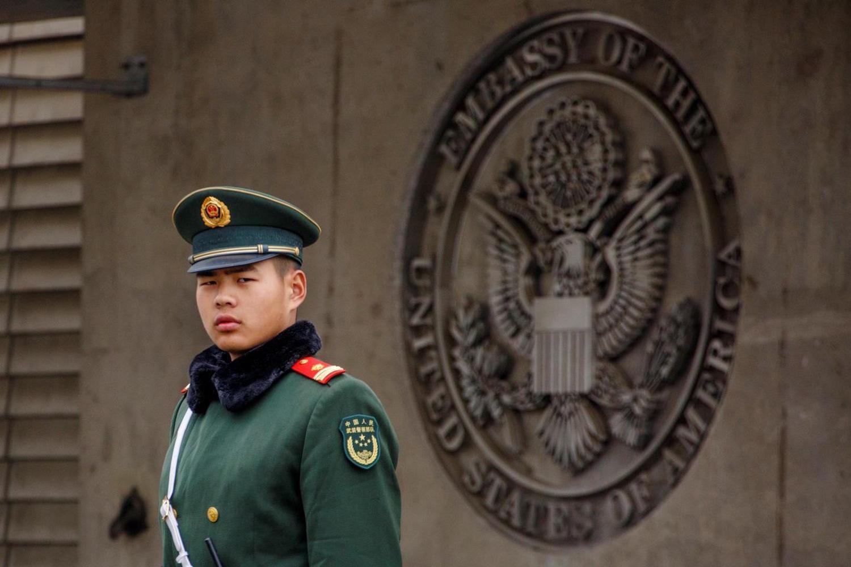 EEUU alertó a sus diplomáticos en China por incidentes