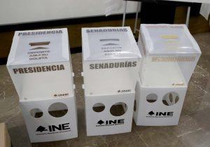 Material electoral llega a SLP sin resguardo de fuerzas federales