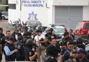 Quedan libres 19 policías de Texmelucan