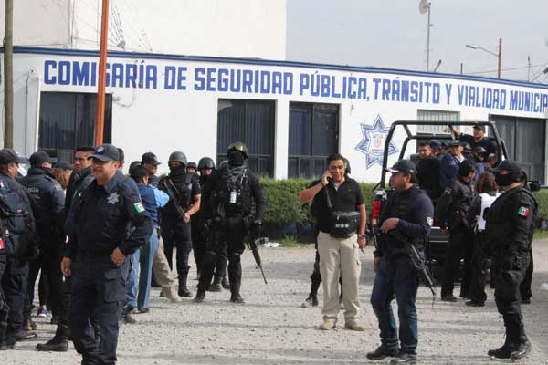 Bajó violencia en Texmelucan tras limpia de policías