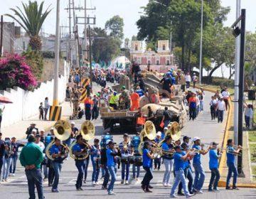 Todo listo para desfile del 5 de mayo