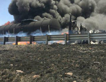Caos por fuerte accidente en Libramiento Noreste Querétaro