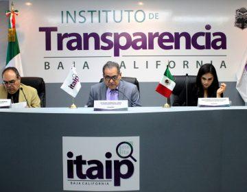 Multa ITAIPBC a Morena y PRD en Baja California