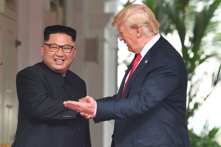 Histórico encuentro entre presidentes de EE.UU. y Corea del Norte