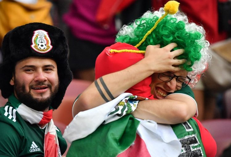 """De #LadyNoMa…  al """"Cielito Lindo"""" ⚽️: los 10 momentos del triunfo de México 🇲🇽  sobre Alemania 🇩🇪"""