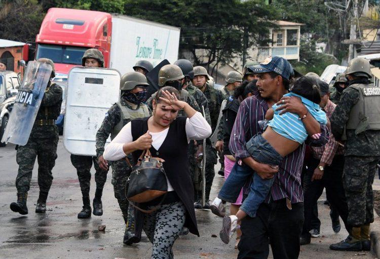 Crisis postelectoral en Honduras: del presunto fraude a la represión de las protestas