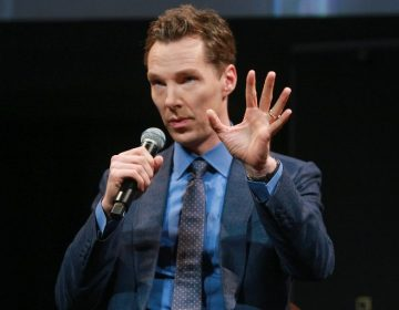 El actor Benedict Cumberbatch salva a un ciclista de cuatro agresores en Londres