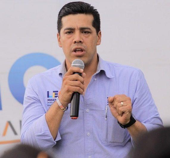 Cierra Leonardo Montañez campaña con propuestas de seguridad