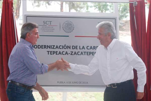 Puebla alcanzará los 27 mmdp en obras carreteras