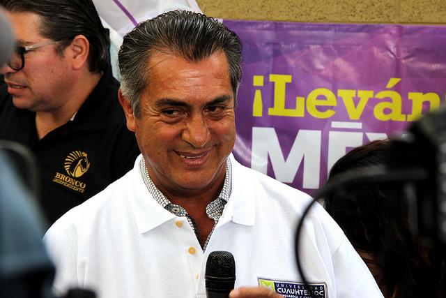 """""""¿Cómo pueden creer en el INE?"""", arremete El Bronco en Aguascalientes"""