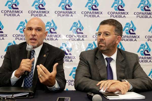 Puebla tiene una Fiscalía coja: Coparmex