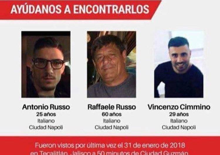 A cuatro meses, familiares suben recompensa por italianos desaparecidos en Jalisco