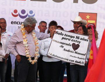 Promete AMLO castigo hasta a su familia por corrupción