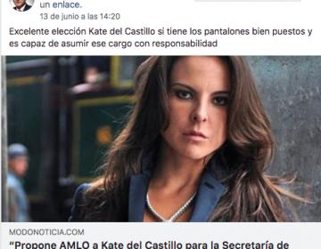 Kate del Castillo o Belinda, ¿secretarias de Cultura si gana López Obrador?