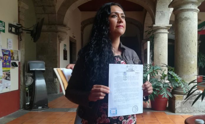 Acusa candidata del Frente a alcaldía en Jalisco amenazas de muerte de abanderado del PRI
