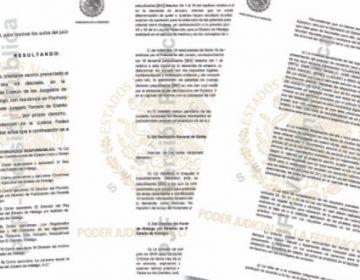 Dan revés a 16 notarías de exfuncionarios en Hidalgo