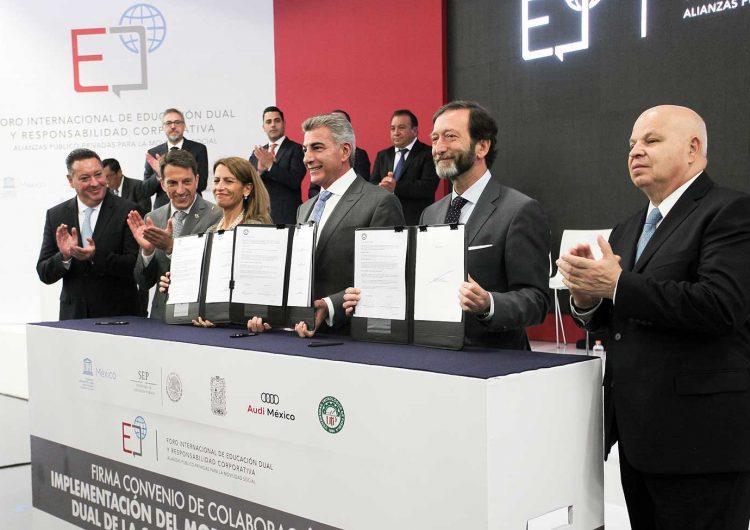 Audi México: trabajar para la construcción del bien común