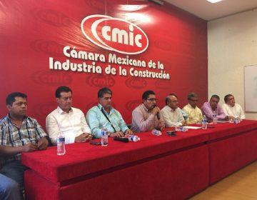 Obra, pide CMIC a gobierno de Oaxaca