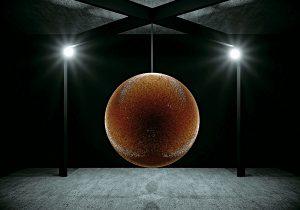 """Una """"Estrella de la Muerte"""" hecha con 40,000 balas para combatir la violencia"""