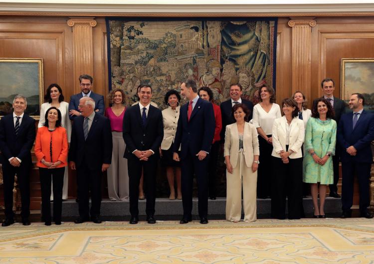 Por primera vez, el gobierno español tendrá más mujeres que hombres