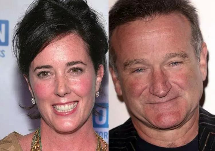 Kate Spade estaba obsesionada con la muerte de Robin Williams, según su hermana