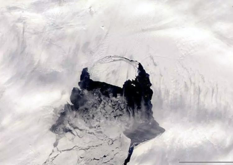 La actividad volcánica está derritiendo un glaciar ártico