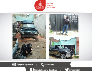 Aseguran en Tonalá dos inmuebles donde desmantelaban automóviles robados