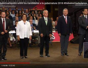 Verdades y mentiras: lo que dijeron los candidatos a gobernador de Guanajuato en debate