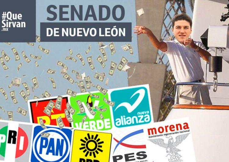 Candidato de MC acusado de nexos con el narco, reporta el mayor gasto en campaña al Senado por NL