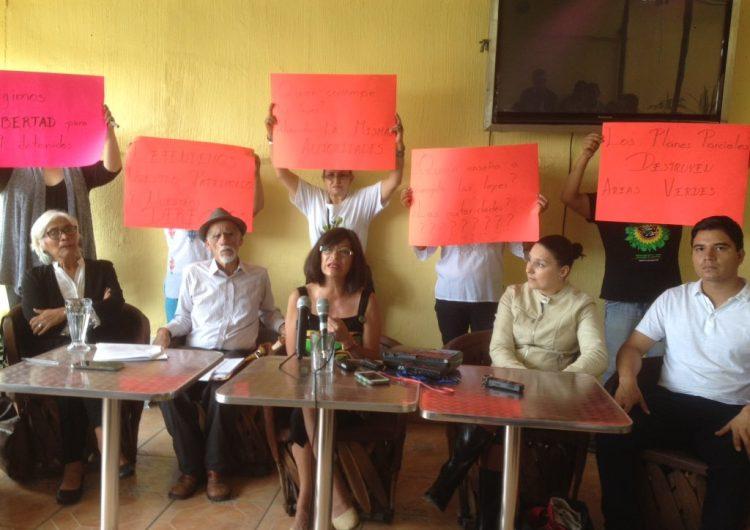 """Acusan detenciones arbitrarias de manifestantes contra """"ecocidio"""" en Guadalajara"""