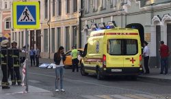 Taxista atropella a aficionados en Moscú; hay 7 heridos