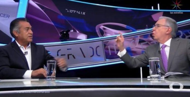 """Acusa """"El Bronco"""" ante el INE a López Dóriga por """"falta de ética y profesionalismo"""""""
