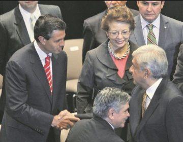 La fotografía que mostró Anaya sobre López Obrador y Peña Nieto es de 2012