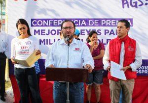 Iría José Carlos Lozano contra violencia de género, a niños y a adultos mayores