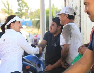 Gestionará Lorena Martínez recursos para nueva línea verde en zona de Los Pericos