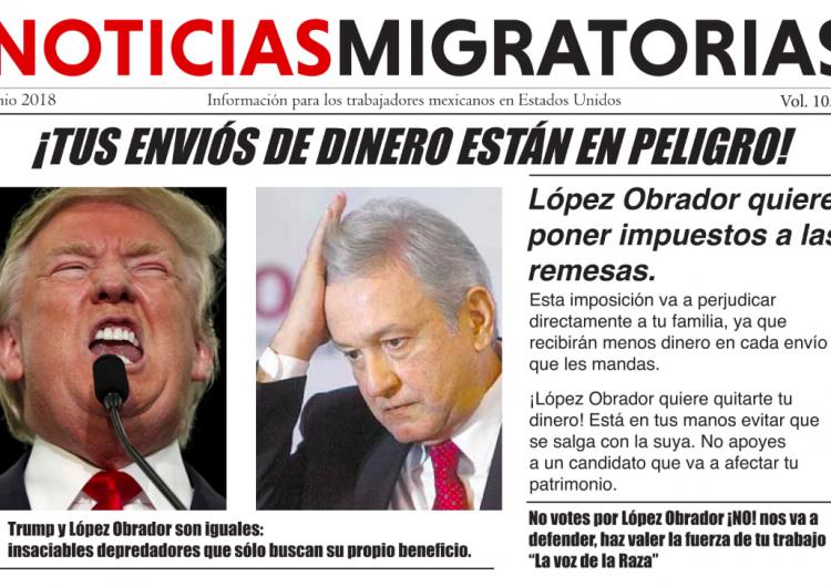 López Obrador no anunció impuestos para las remesas