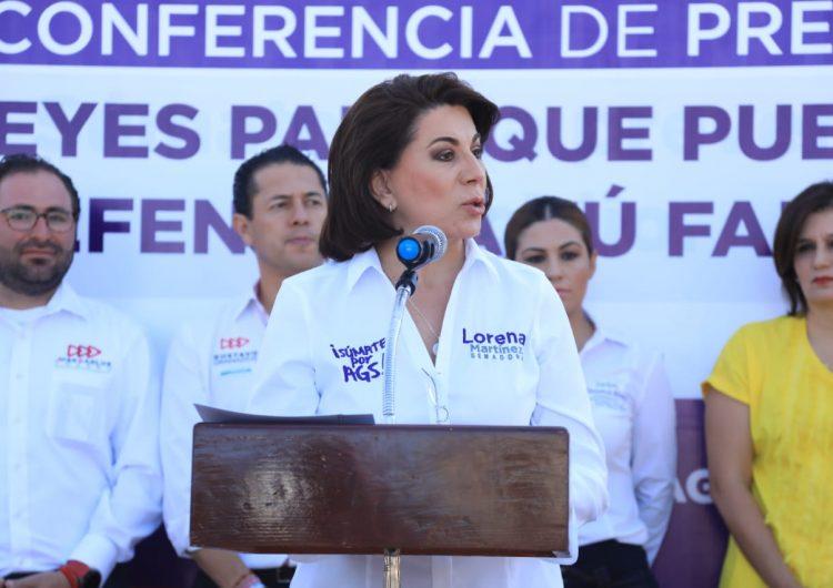 Mejores leyes  para tu tranquilidad y defensa: Lorena Martínez