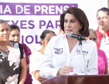 Iría Lorena Martínez contra violencia de género de lograr escaño en el Senado