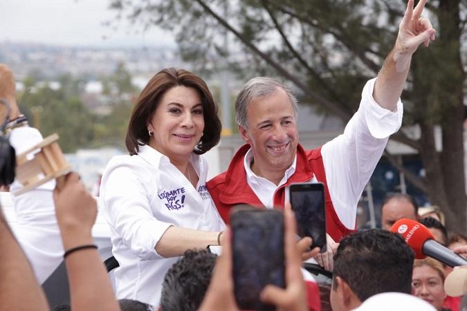 Destaca Lorena Martínez trayectoria política de José Antonio Meade