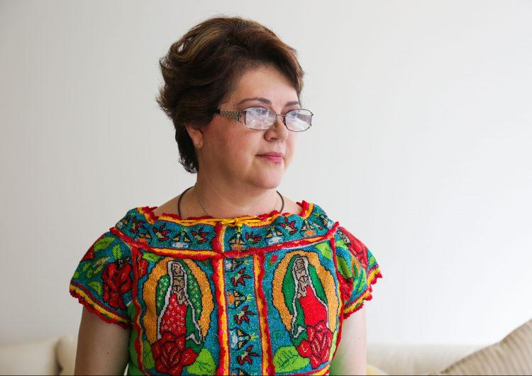 No se puede negar la violencia política contra las mujeres en Oaxaca, dice la candidata Aurora López