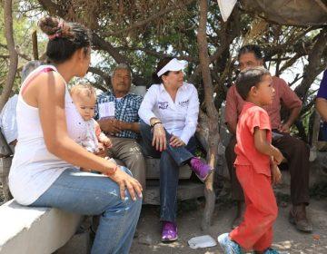 Habrá mayores recursos para las comunidades rurales: Lorena Martínez