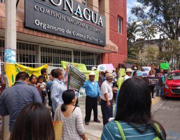 Protestan en Oaxaca contra privatización del agua