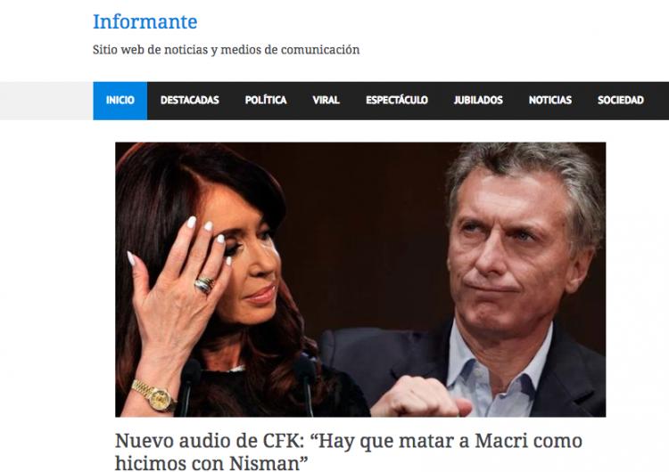 Se piratean noticia falsa difundida en Argentina para crear otra sobre Salinas y López Obrador