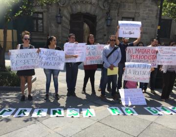 CEDHJ investiga agresión contra periodista de policías de Tlaquepaque