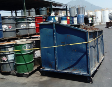 Suspende empresa en García, NL, por manejo inadecuado de residuos peligrosos