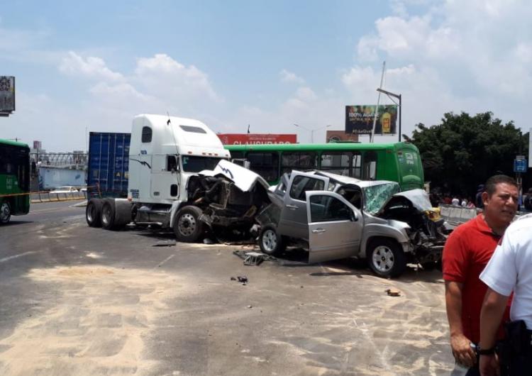 Deja 19 lesionados carambola en carretera Chapala-Guadalajara